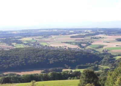 Grandfontaine depuis Roche d'Or